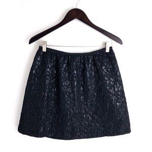 OLD Navy . Shiny Leopard Print Skirt